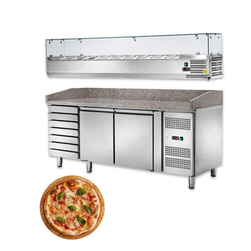 Banchi Pizza e Vetrine Refrigerate Pizzeria