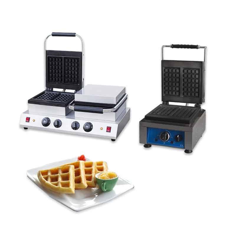Piastre per Waffle Professionali