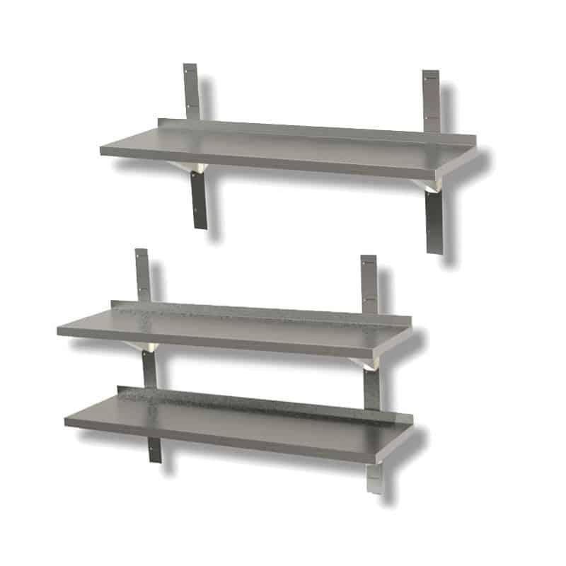 Mensole acciaio Inox
